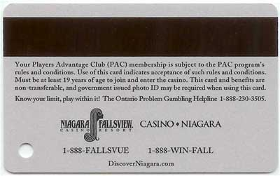 pac card back